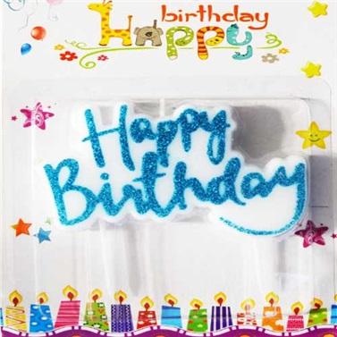 Mavi Simli Happy Birthday Mum