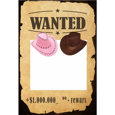 Wanted Kişiye Özel Çerçeve
