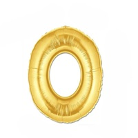Altın O Harf Folyo Balon