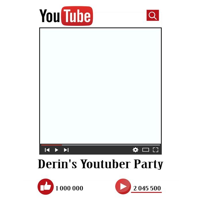 Youtube Kişiye Özel Çerçeve