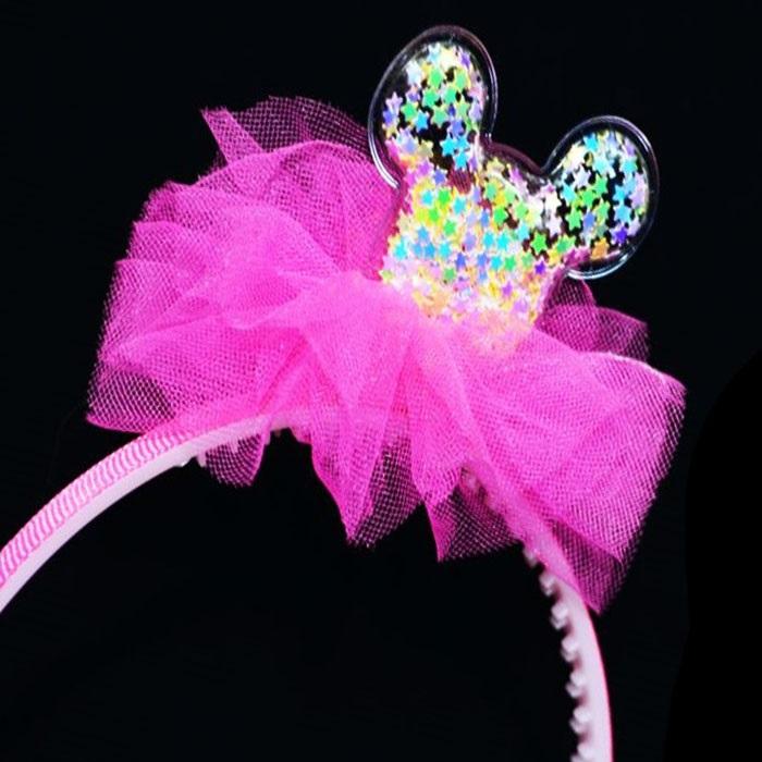 Minnie Mouse Konfetili Taç