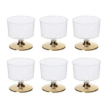 Altın Ayaklı Shot Bardağı