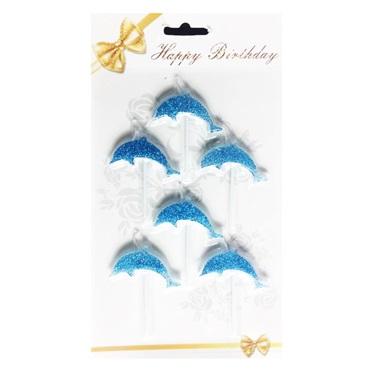 Mavi Yunus Balığı Mum