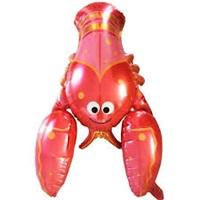 Kırmızı Yengeç Folyo Balon
