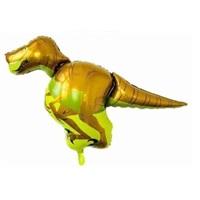 Yeşil T Rex Folyo Balon