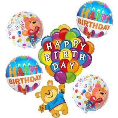 Happy Birthday Folyo Balon Seti