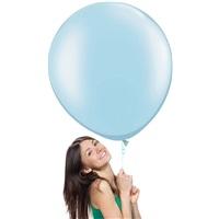 Soft Mavi Jumbo Balon