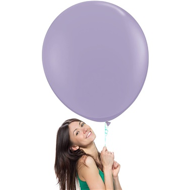 Soft Lila Jumbo Balon