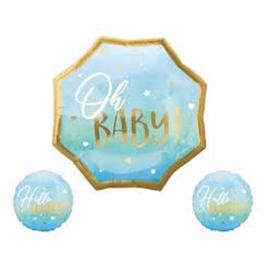 Oh Baby Folyo Balon Seti