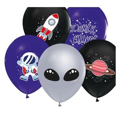 Uzay Temalı Balon