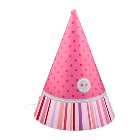 Çilek Kız Temalı Külah Şapka