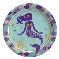 Deniz Kızı Temalı Tabak