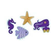 Deniz Kızı Temalı Sticker