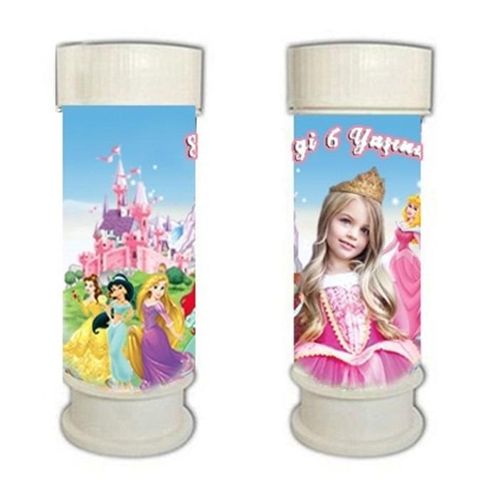 Prensesler Köpük Baloncuk Kişiye Özel