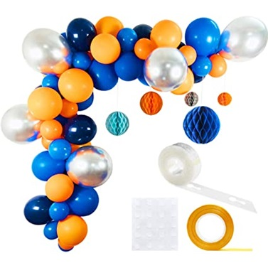 Uzay Temalı Zincir Balon Seti