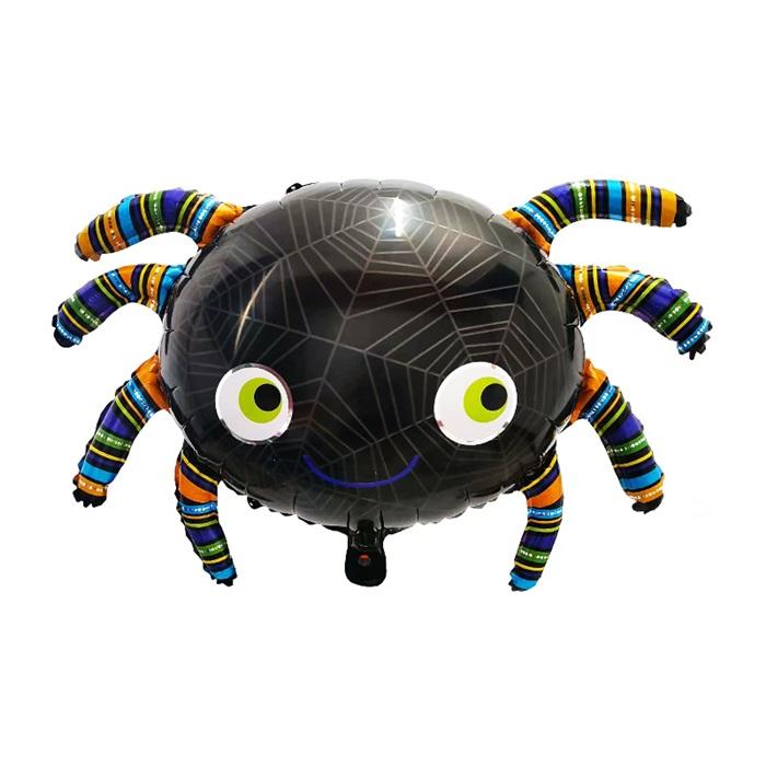 Cadılar Bayramı Örümcek Folyo Balon