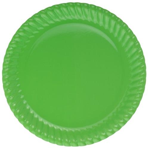 Yeşil Tabak 8 Adet 22cm