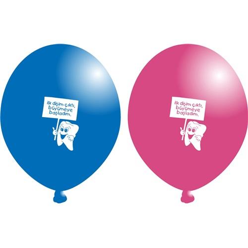 Diş Baskılı Balon
