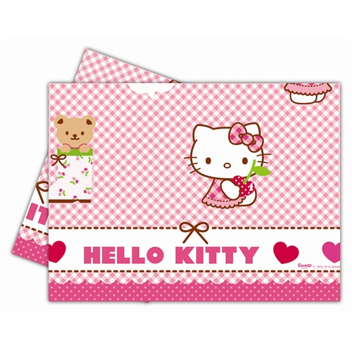 Hello Kitty Kalpli Masa Örtüsü