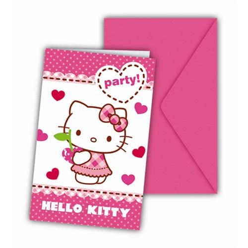 Hello Kitty Davetiye