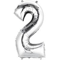 2 Folyo Balon Metalik