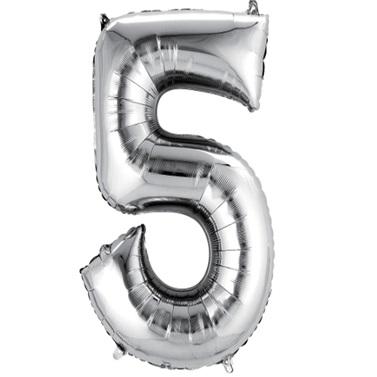 5 Folyo Balon Metalik