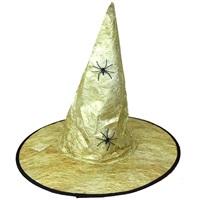 Cadılar Bayramı Gold Renkli Şapka