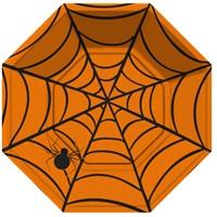 Cadılar Bayramı Örümcek Ağlı Tabak