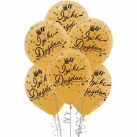 Gold İyi Ki Doğdun Balon 100 Adet