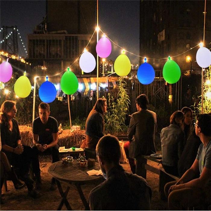 Animasyonlu Rgb Sıralı Led Işıklı Balon Doğum Günü Parti