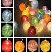 Top Renkli Sıralı Dize Led Işık Dekoratif Lamba Aydınlatma