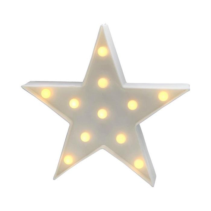 Işıklı Led Büyük Yıldız Dekoratif Aydınlatma