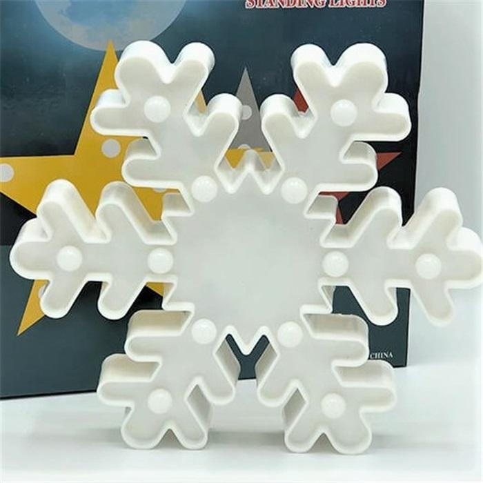 Işıklı Led Kar Tanesi Dekoratif Aydınlatma