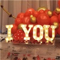 I LOVE YOU LED IŞIKLI KUTU HARF