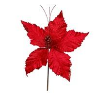 Yapay Çiçek Süs Kırmızı