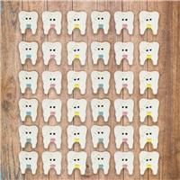 Diş Kurabiyeleri 10'lu