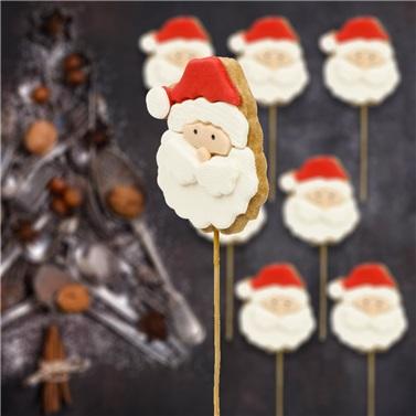 Yılbaşı Noel Baba Kurabiyesi 10'lu
