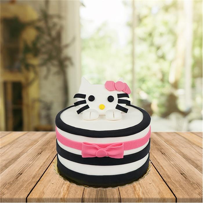 Sevimli Kedi Butik Pasta