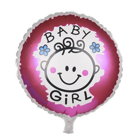 Baby Girl Folyo Balon