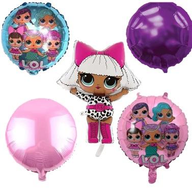 Lol Bebek 5'li Balon Demeti