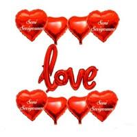 Love Folyo Balon Demeti