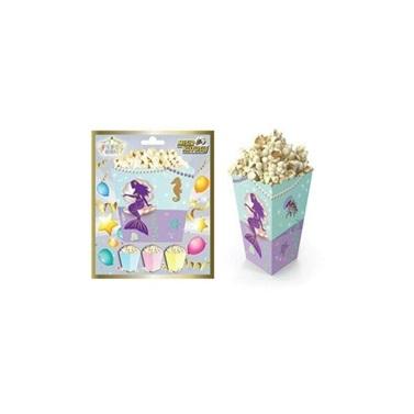 Deniz Kızı Popcorn Kutusu