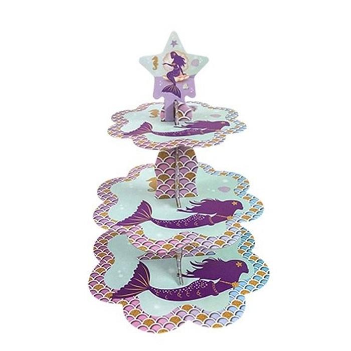Deniz Kızı Temalı Cupcake Standı