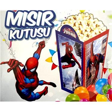 Spiderman Popcorn Kutusu