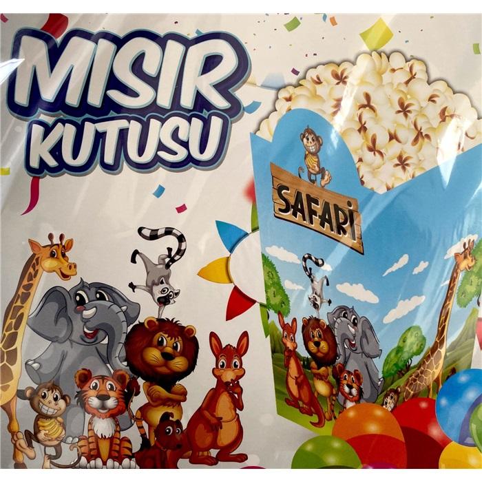 Safari Popcorn Kutusu