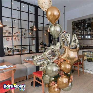 Kişiselleştirilebilir Balon Buket Aranjman