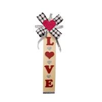 Sevgililer Günü Ahşap Love Yazılı Asma Süs