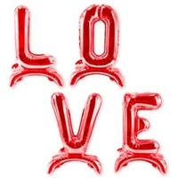 Ayaklı Love Folyo Balon