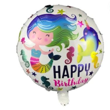 Deniz Kızı Folyo Balon