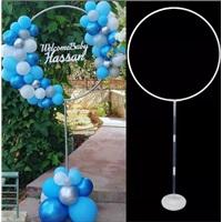 Kişiye Özel Ayaklı Çember Balon Tag